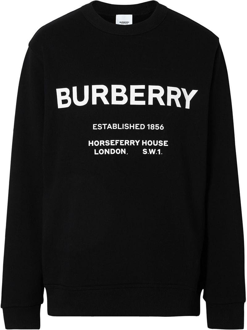 Burberry Horseferry Print Sweatshirt Farfetch Printed Sweatshirts Sweatshirts Mens Sweatshirts [ 1067 x 800 Pixel ]