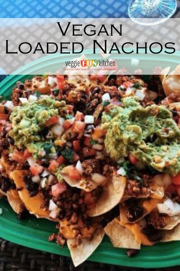 Vegan Loaded Nachos