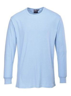 Camiseta interior térmica manga larga Azul cielo