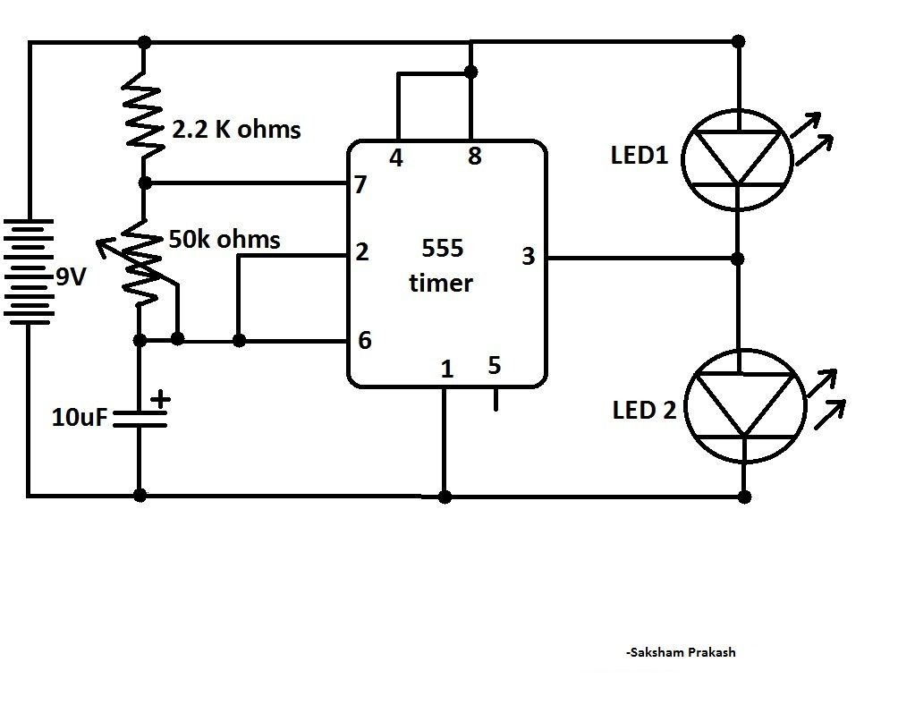 simple alt flasher  need to add current limiter resistors