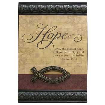 Hope Metal Wall Decor I like the three of these Faith Hope and Love ...