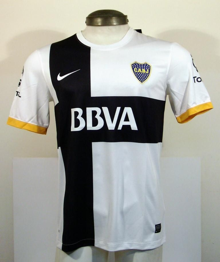 Camiseta Nike Boca Juniors - Argentina- Modelo Alternativo 2012 - 2013