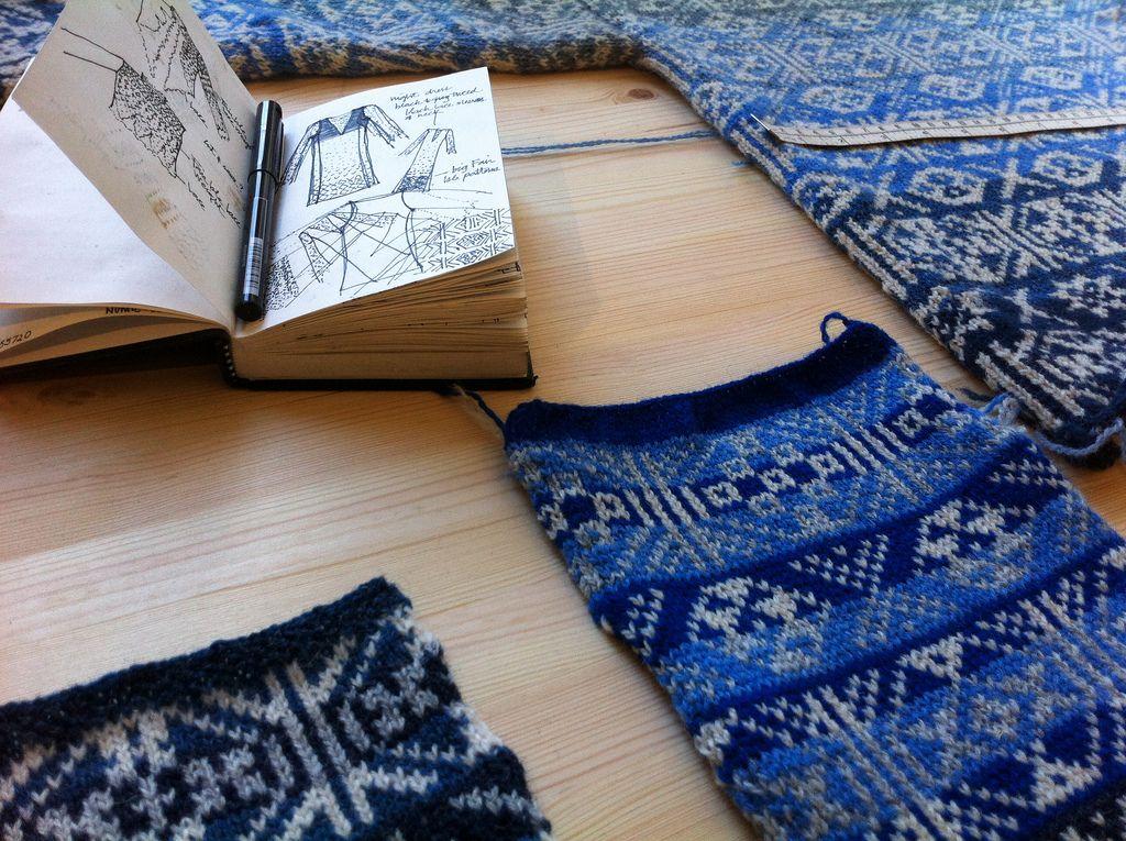 Fair Isle Knitwear by Mati Ventrillon | Fair isles, Knitwear and ...