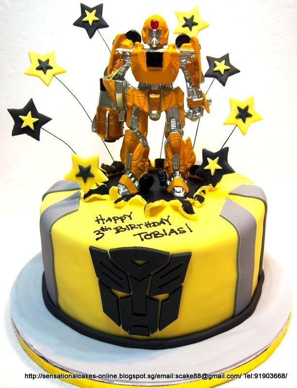 Transformer Theme Sensational Cakes Singapore Birthdays