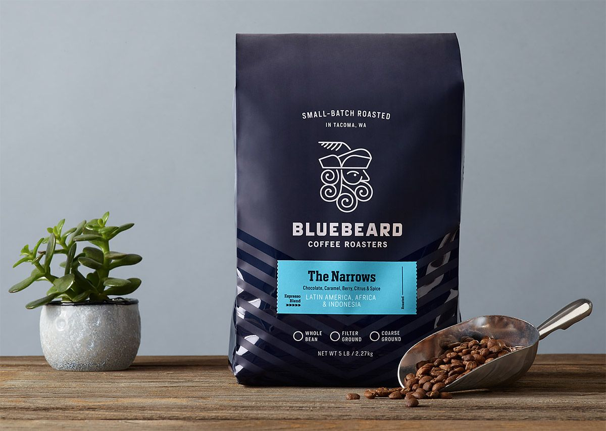 Blue Beard Coffee Roasters Packaging by Partly Sunny | Packaging ...