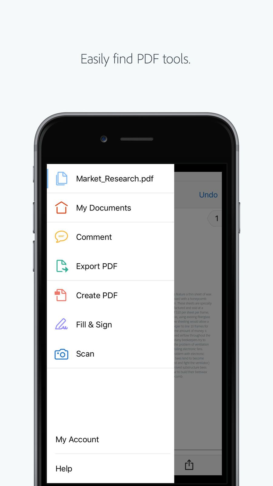 Adobe Acrobat Reader #ios#Productivity#app#apps | cool
