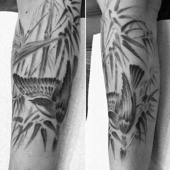 50 Bambus Tattoo Designs Fur Manner Lush Greenery Ink Ideen