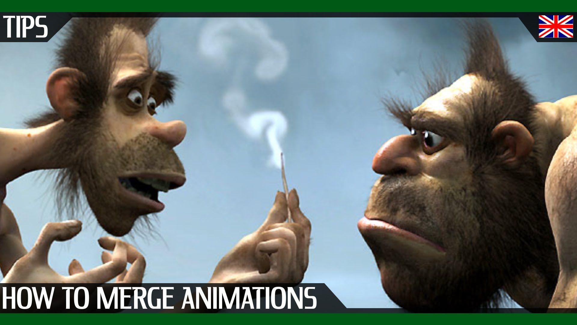 [EN] Cinema 4D : How to merge animations ? Beginner tutorial