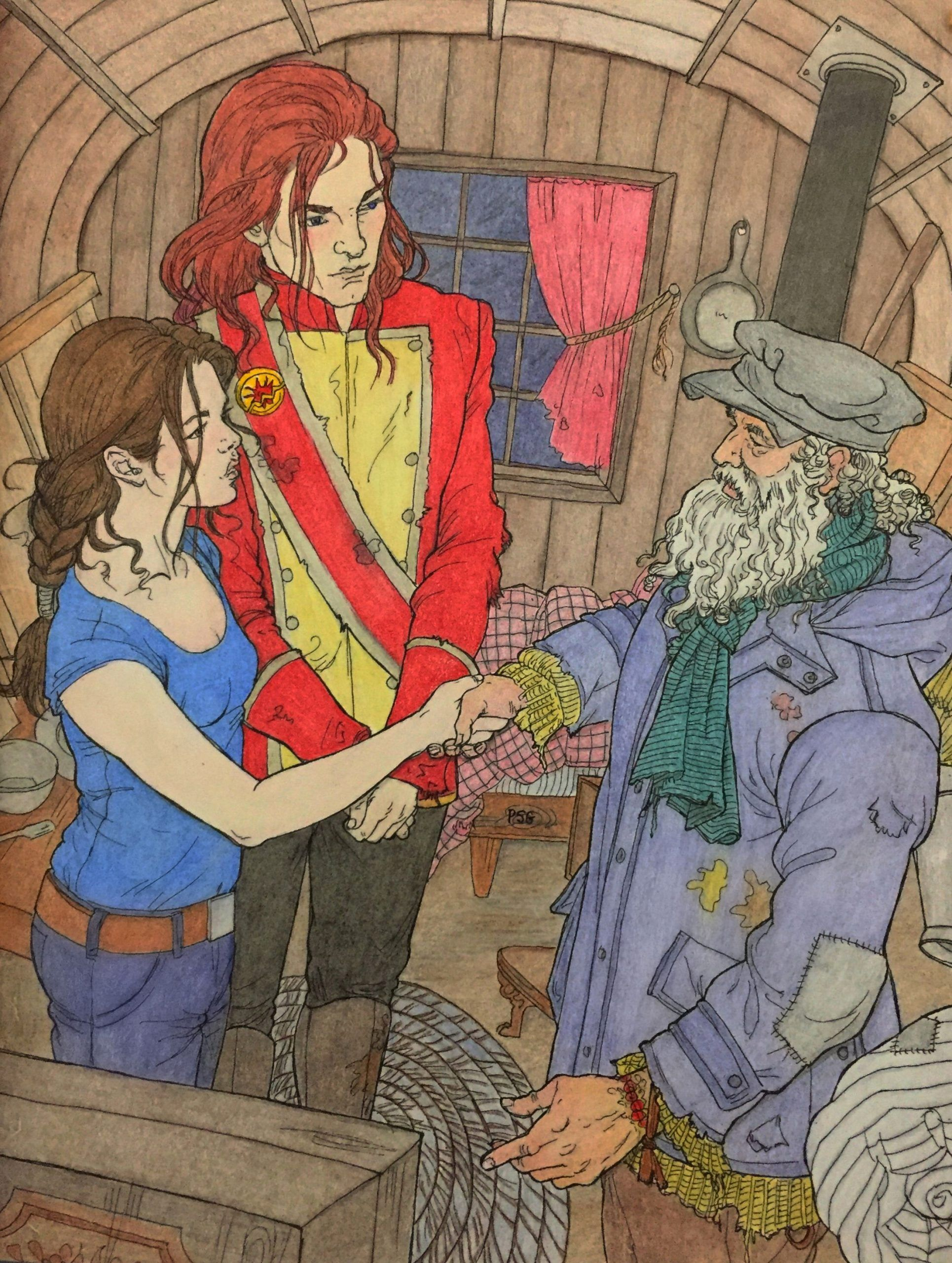 Red Queen Coloring Book Unique Mare Shook Hands With Will