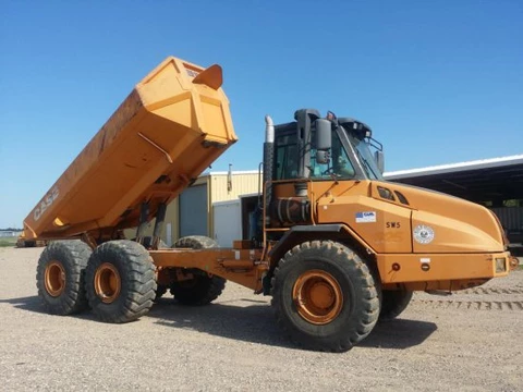Case 325 articulated dump truck service repair