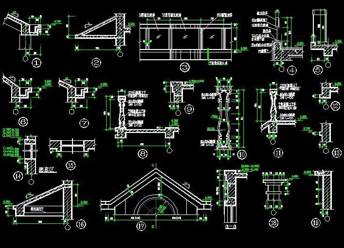 Architecture Details Cad Library Autocad Blocks Autocad