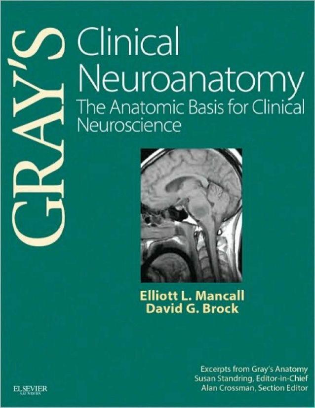 Grays Clinical Neuroanatomy The Anatomic Basis For Clinical
