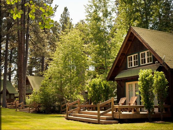 oregon cabins bear rentals hood log mt rustic den vacation cabin