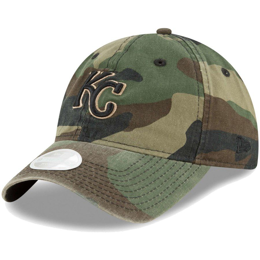 e4804f29cc6 Women s Kansas City Royals New Era Camo Core Classic Twill 9TWENTY  Adjustable Hat