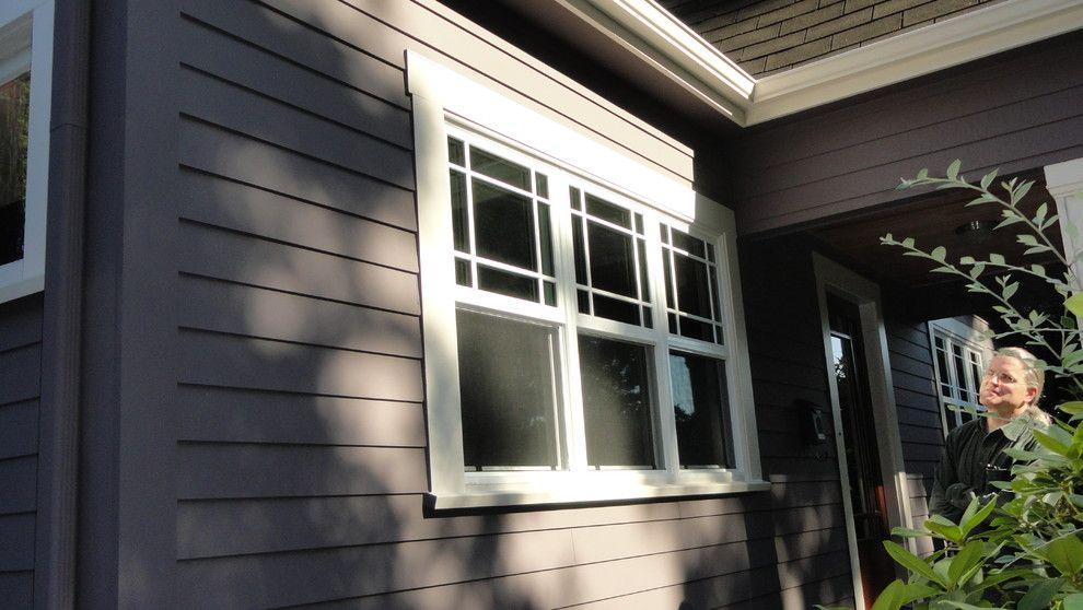 "Exterior Window Styles hardie plank siding 5"" smooth. milgard composite windows | final"