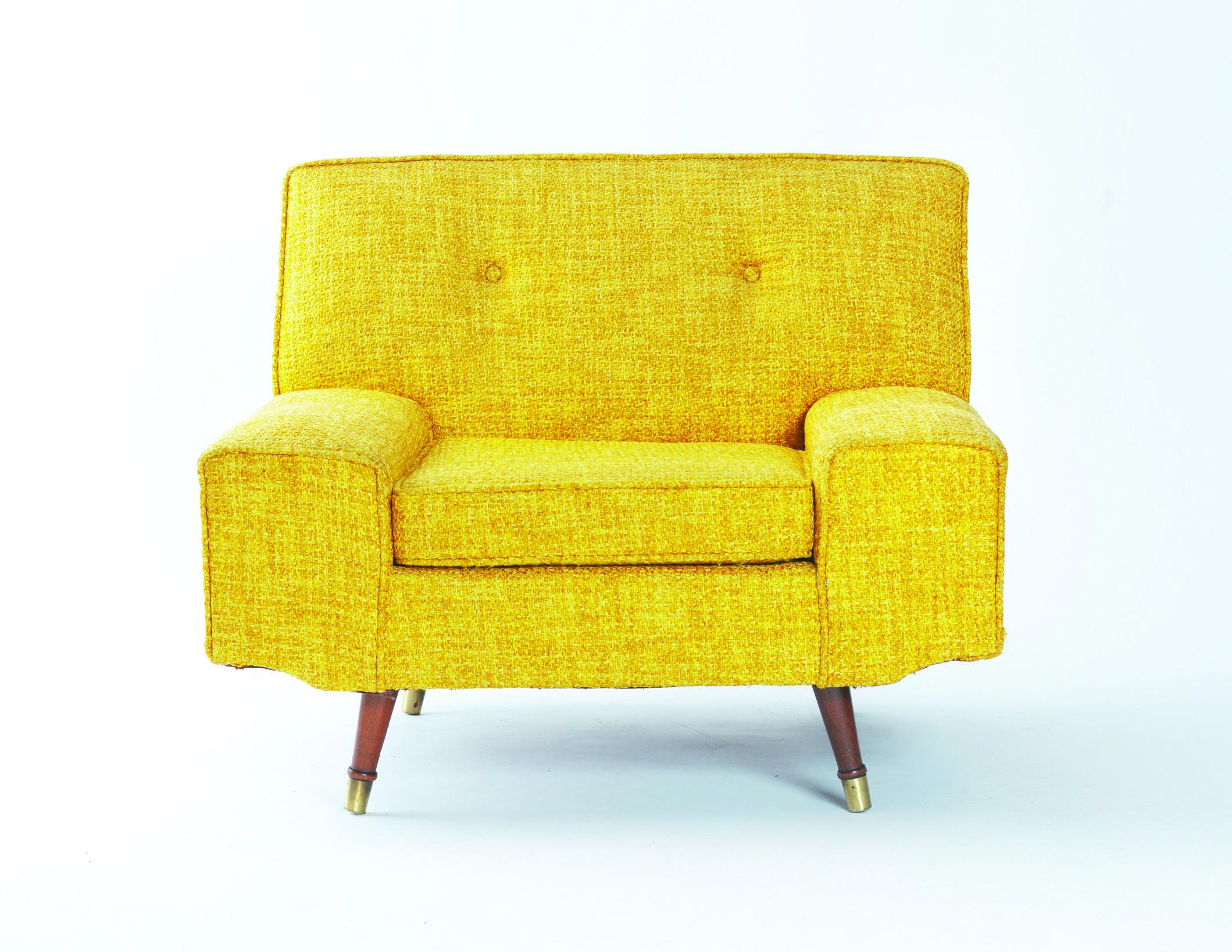 Fauteuil Jaune Vintage fauteuil jaune vintage 1957 | meubles | pinterest | salons