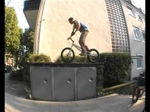 Trials Video Of The Day Bunny Monster Bike Trials Bicycle