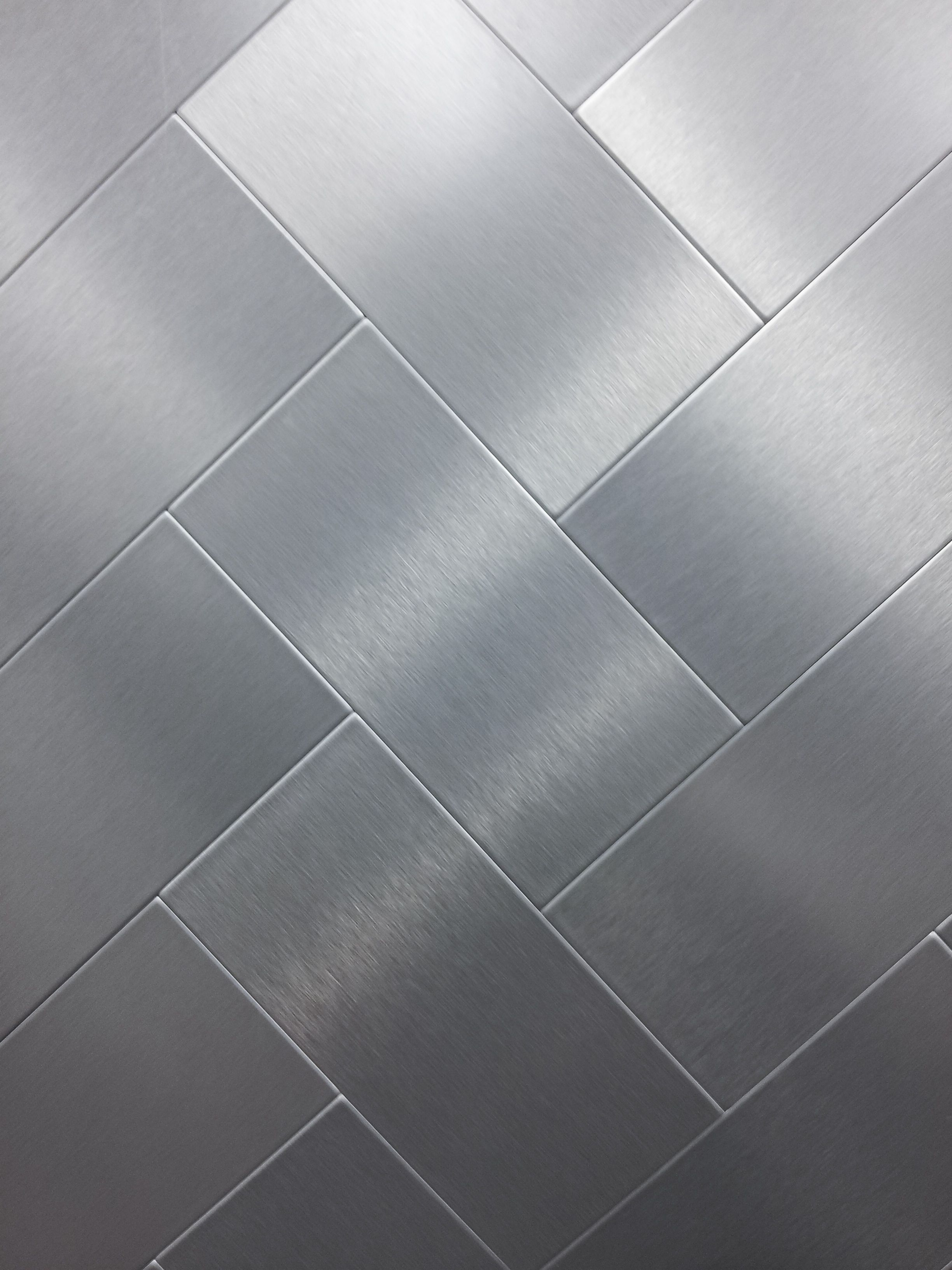 brushed silver metal texture tile surface clean aluminum surface ...