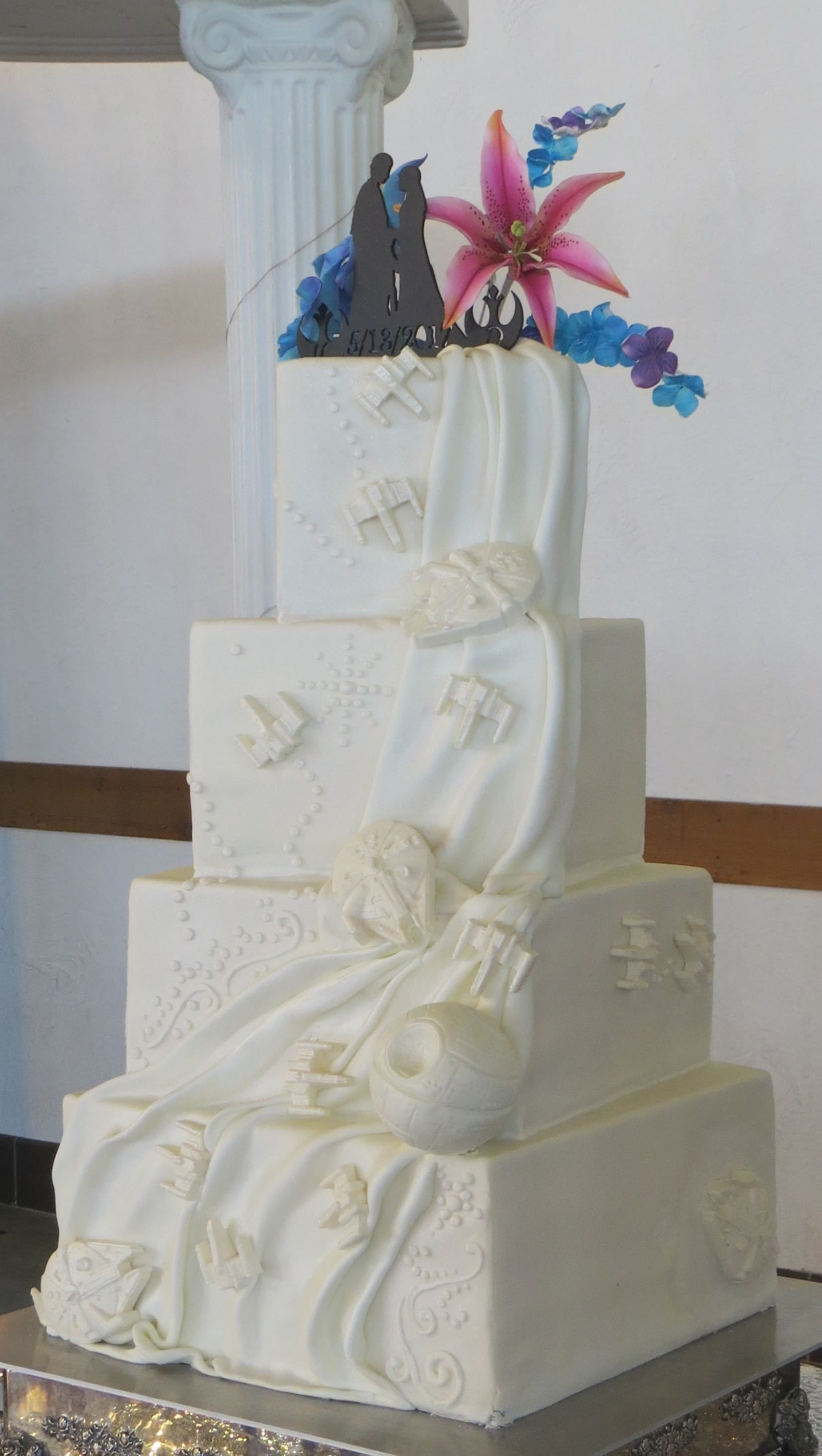 Image result for star wars wedding cake | wedding renewal ...
