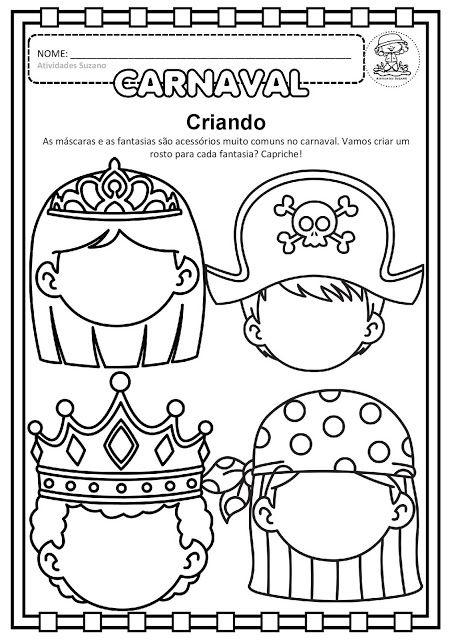 Atividades Adriana Datas Comemorativas Atividades De Carnaval