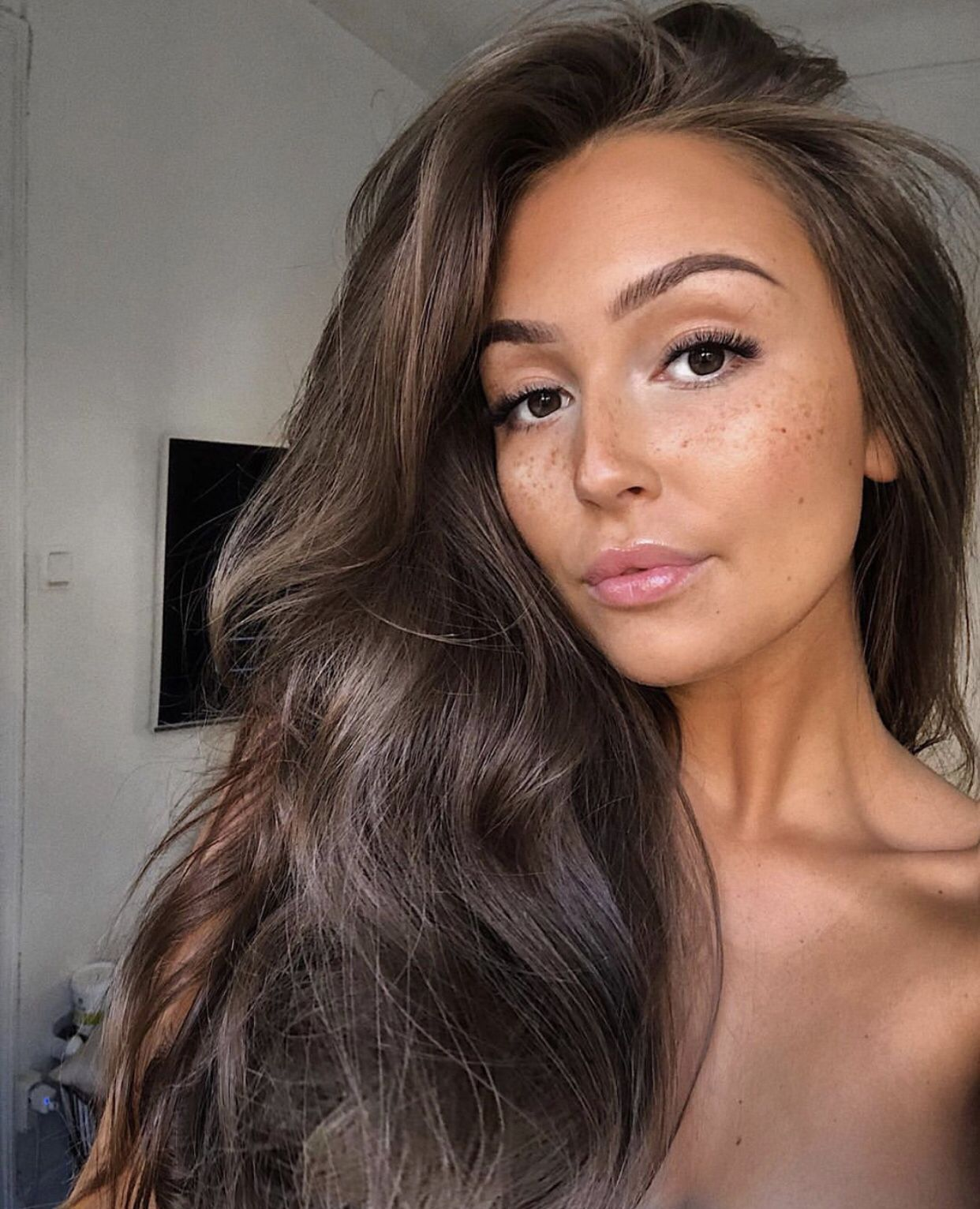 48+ Brown hair shades for tan skin trends