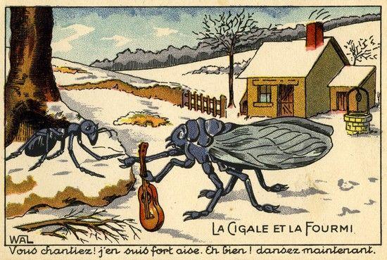 Épinglé sur AYK Jean de La Fontaine (fables)