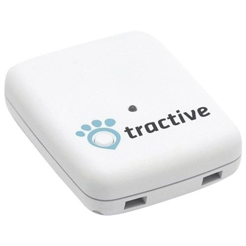 Tractive Gps Pet Tracking Device Tratr White Pet Wearables Best Buy