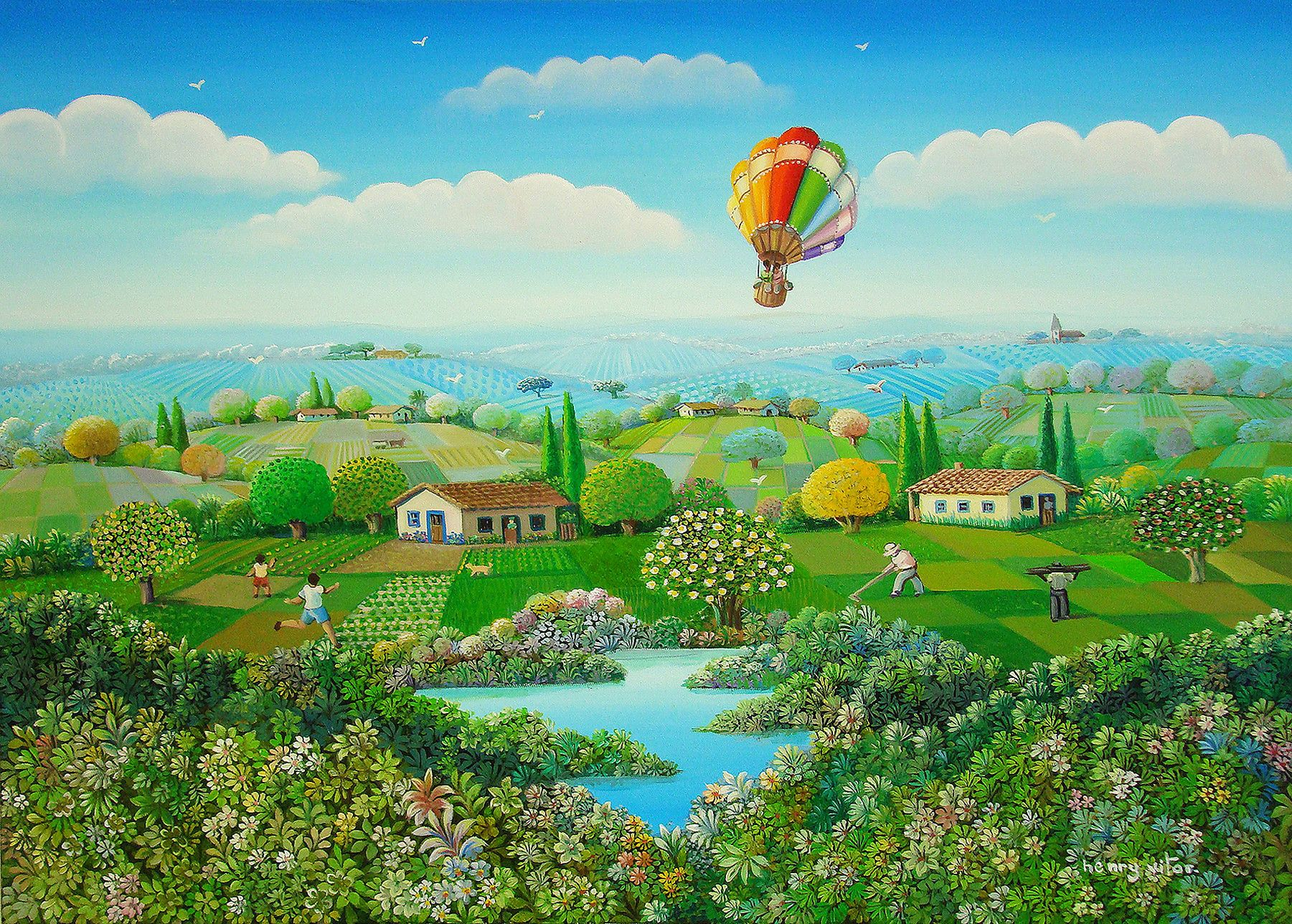 Henry Vitor Victor In 2018 Naive Art