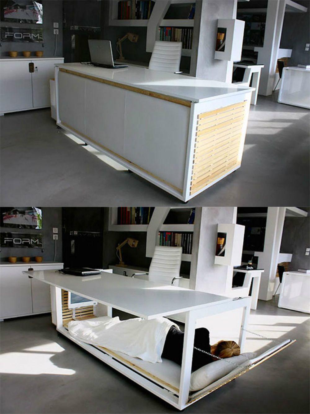 Part Desk Park Nap Area Furniture Design Furniture Creative Office Furniture