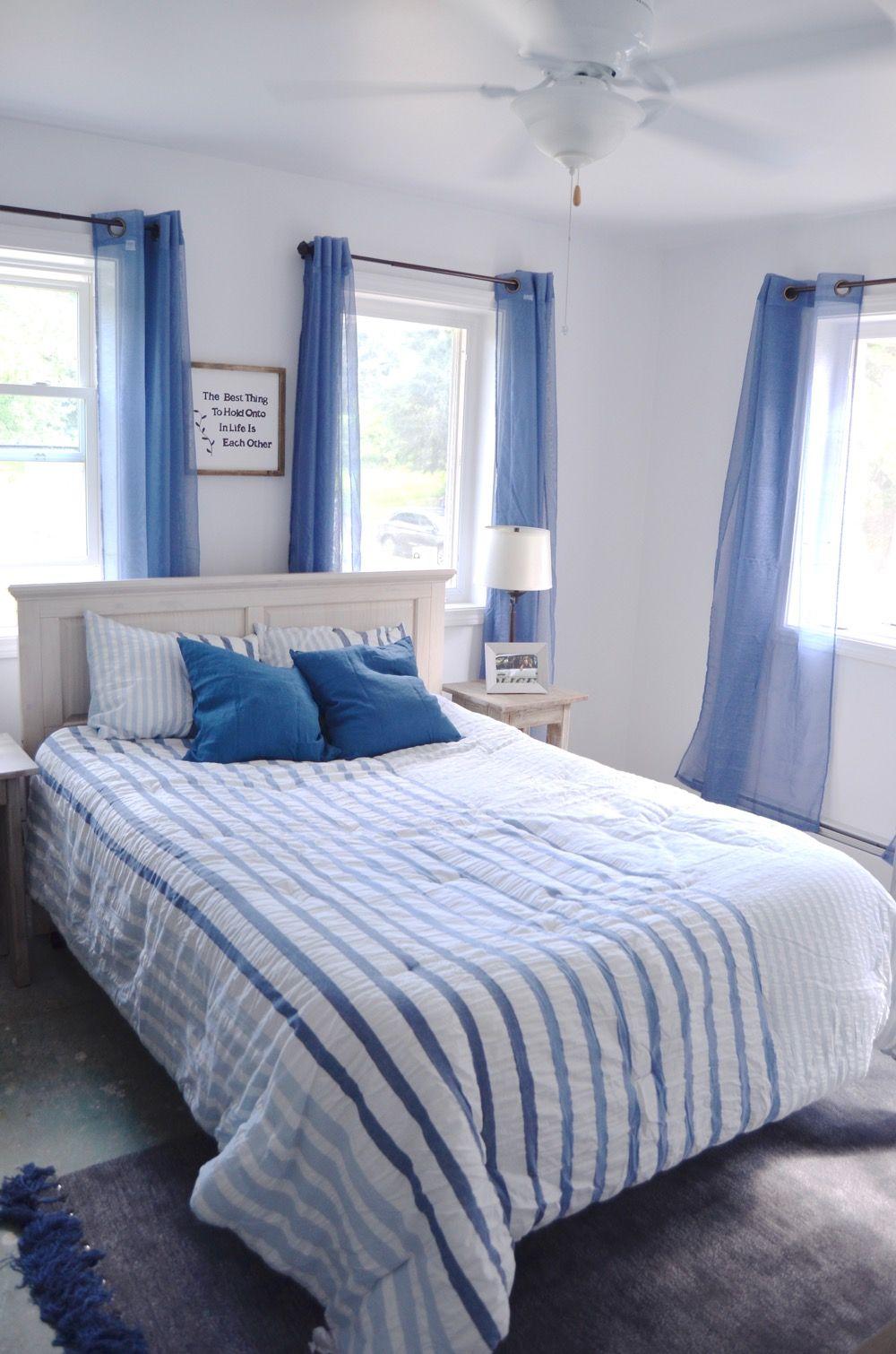 Bloggers Heart Habitat Reveal Ciburbanity Shiplap Headboard Master Room Habitat For Humanity Houses