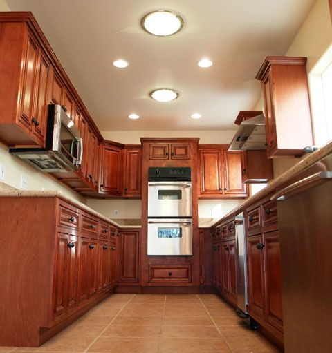 interesting thought to add recessed lighting to the larger ...