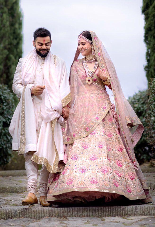 virushkaKiShadi hashtag on Twitter Indian wedding