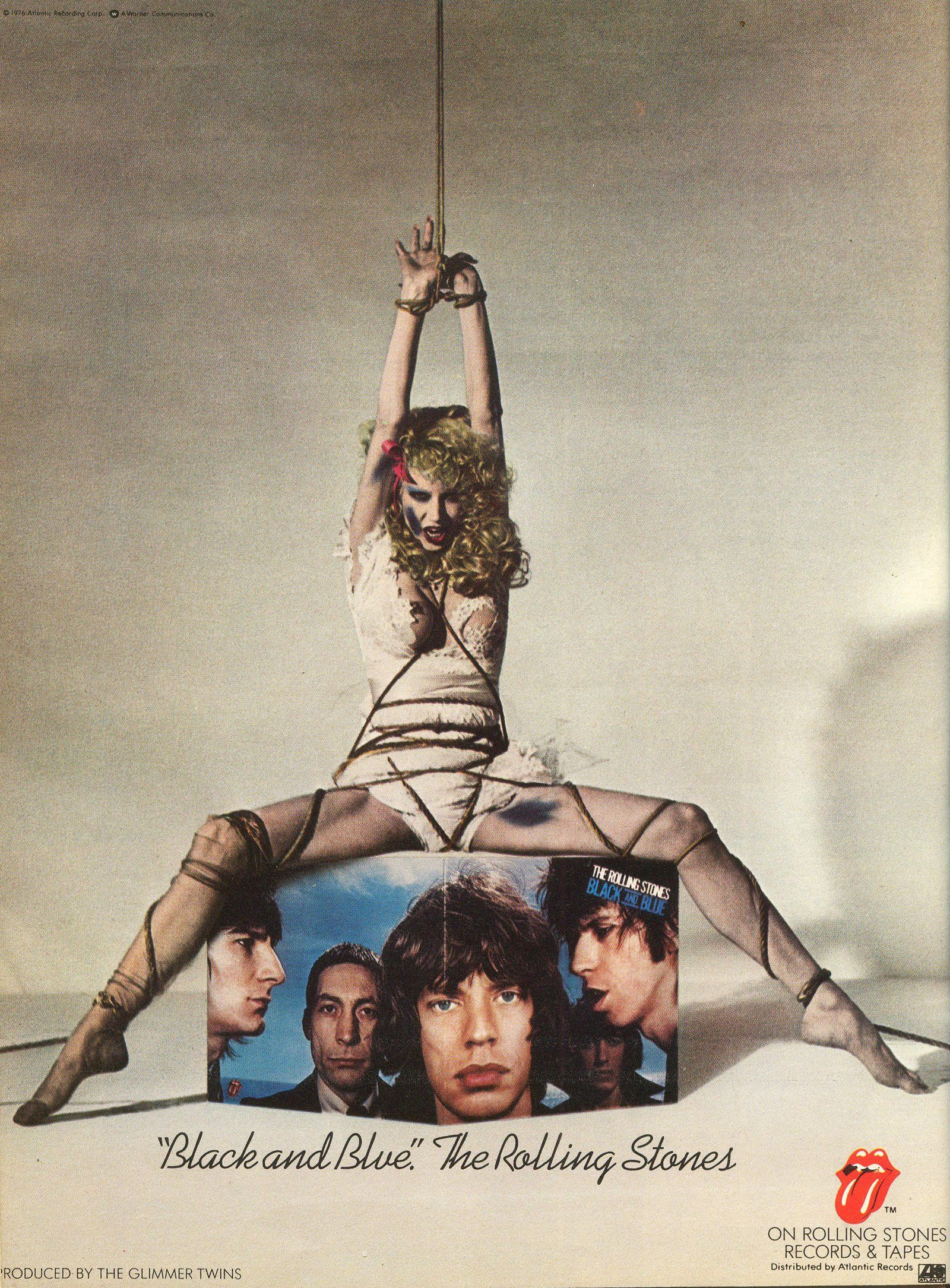 Magazine Ad For The Rolling Stones Quot Black And Blue Quot Album