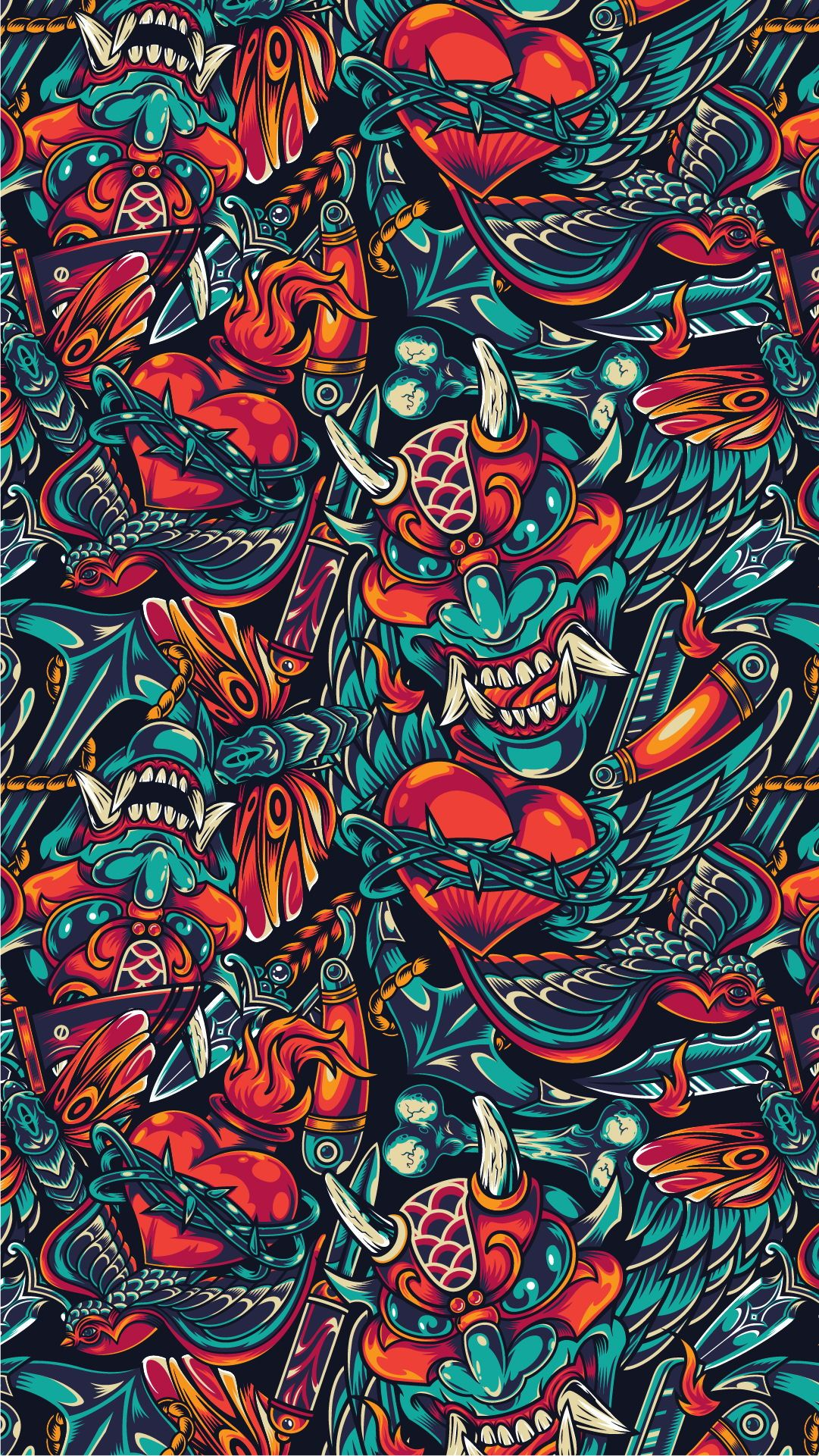 20 Day Of The Dead Apparel Designs In 2020 Warriors Wallpaper