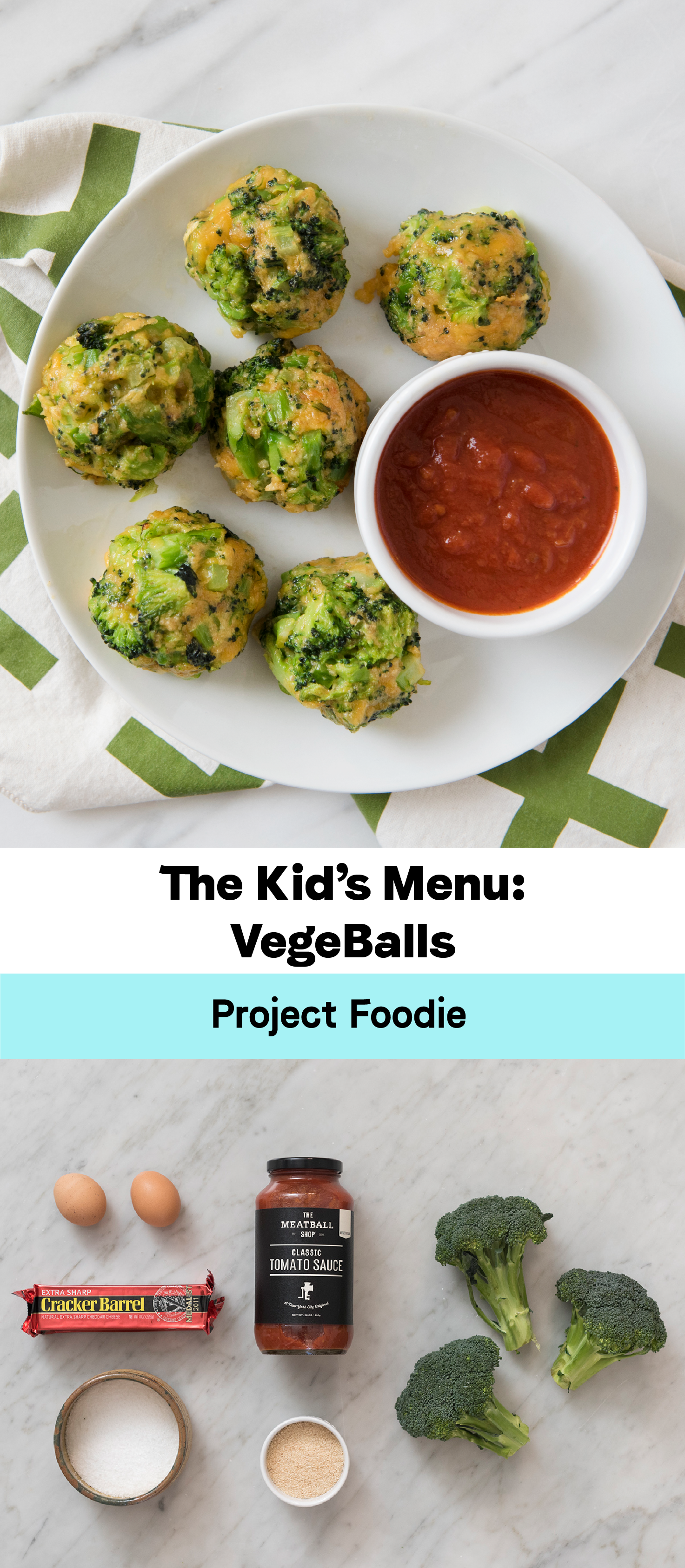 Broccoli Cheese Vegeballs
