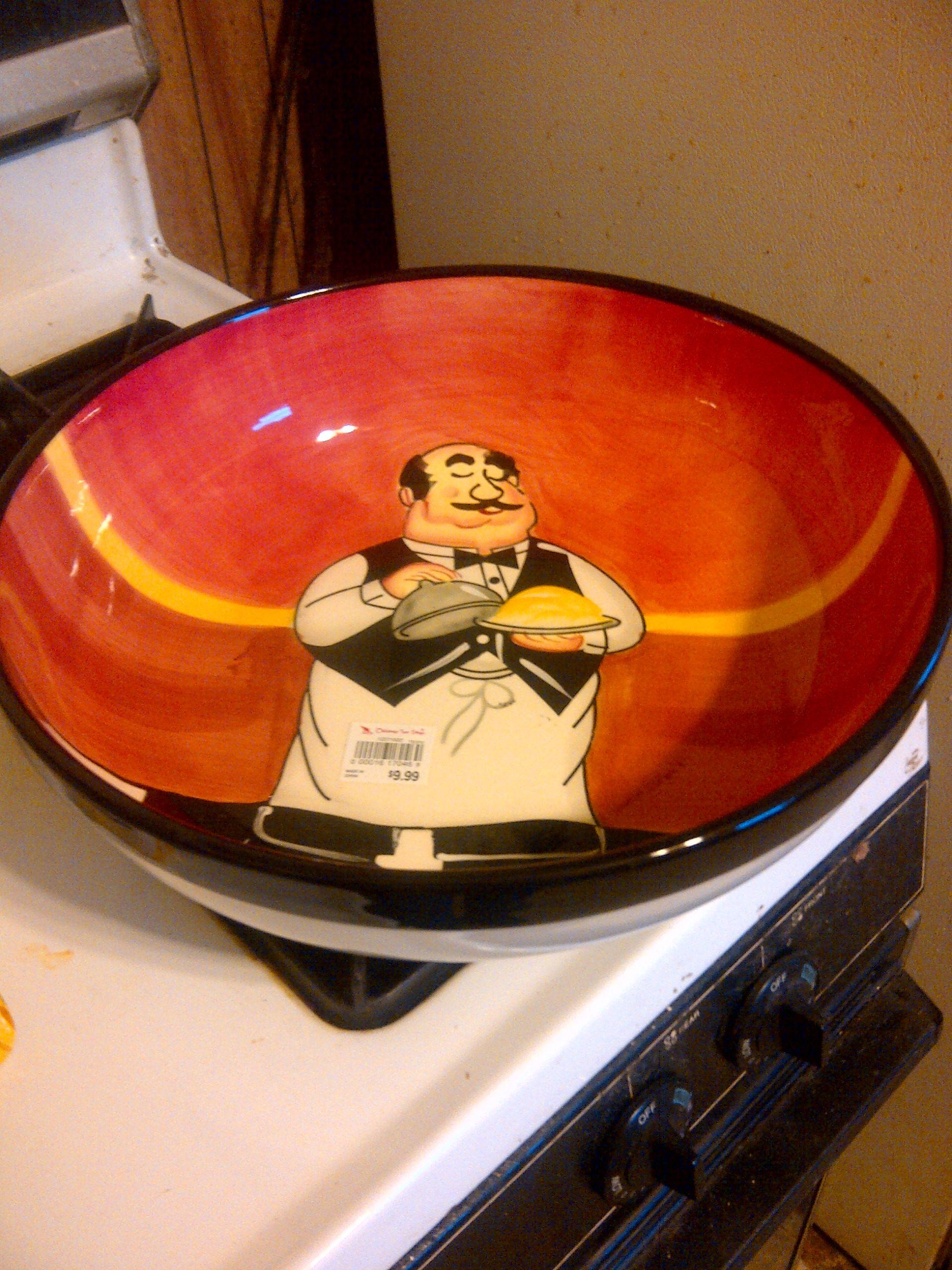 pasta bowl | My Italian Chef Men | Kitchen, Kitchen decor ...