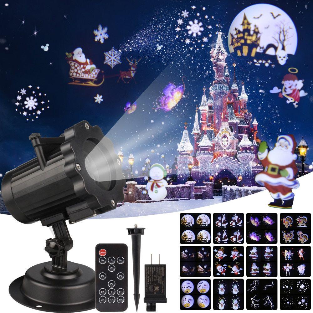 Christmas Laser Projector Animation Effect Ip65 Indoor Outdoor