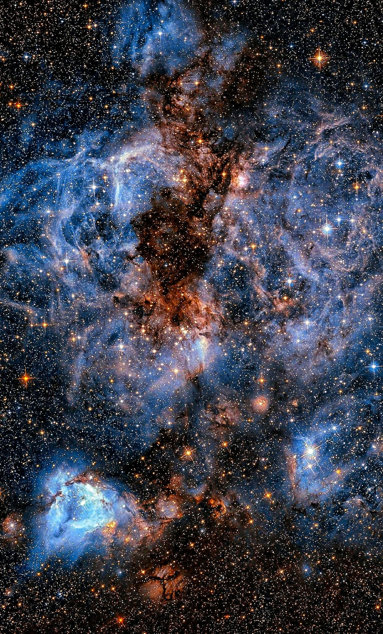 This Shot From The Nasa Esa Hubble Space Telescope Shows A