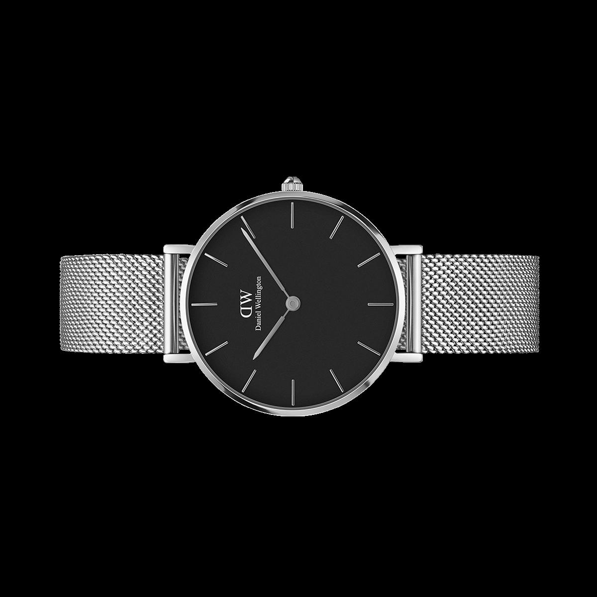 7f6d045f942e0 Classic Petite Sterling 32mm (black)