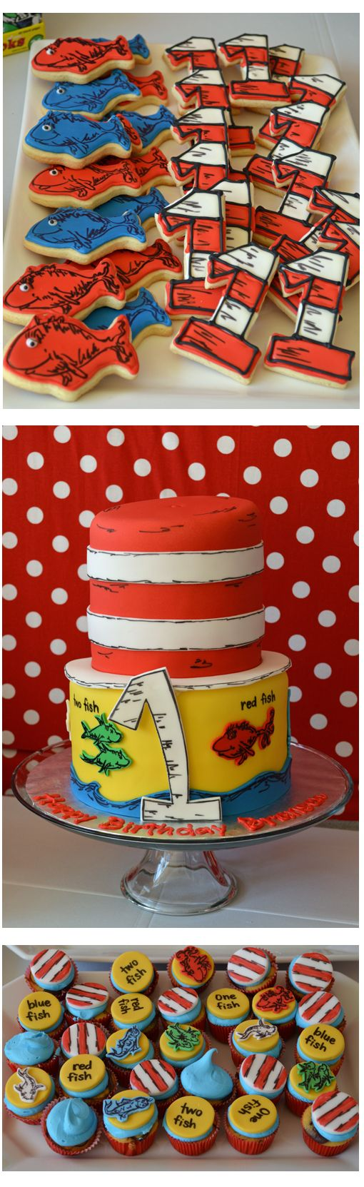 Dr Seuss 1st Birthday Party Ideas Dr Seuss Birthday Party Baby First Birthday Boy Birthday