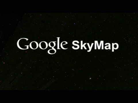 This is Google Sky Map, an Android app that allows you