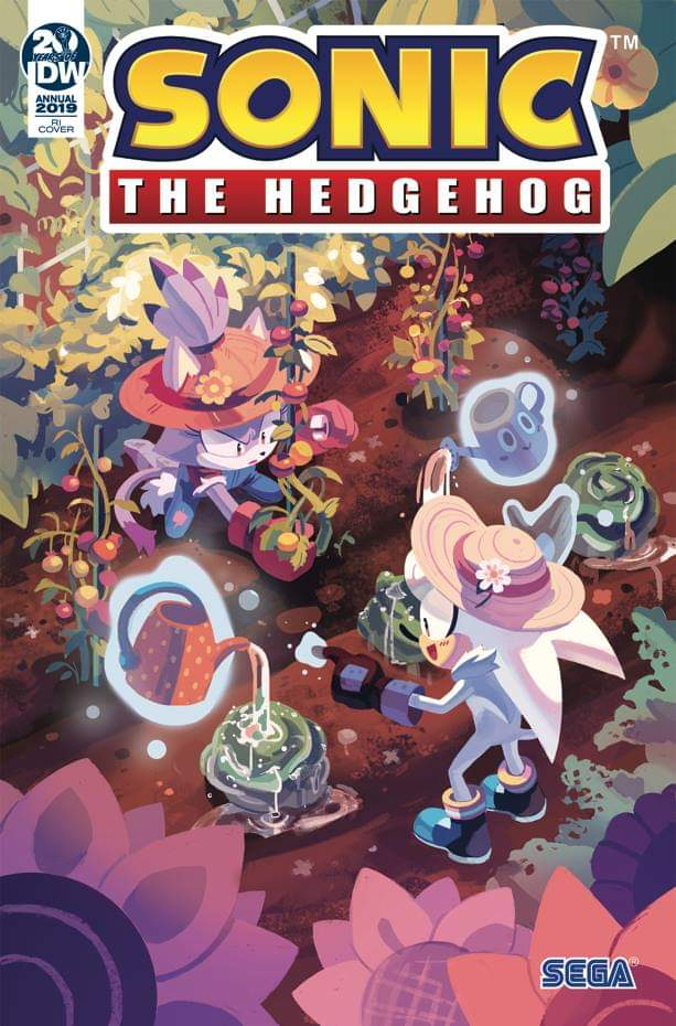 Sonic The Hedgehog Annual 2019 Sonic News Network Fandom Powered By Wikia Silver The Hedgehog Hedgehog Art Sonic The Hedgehog