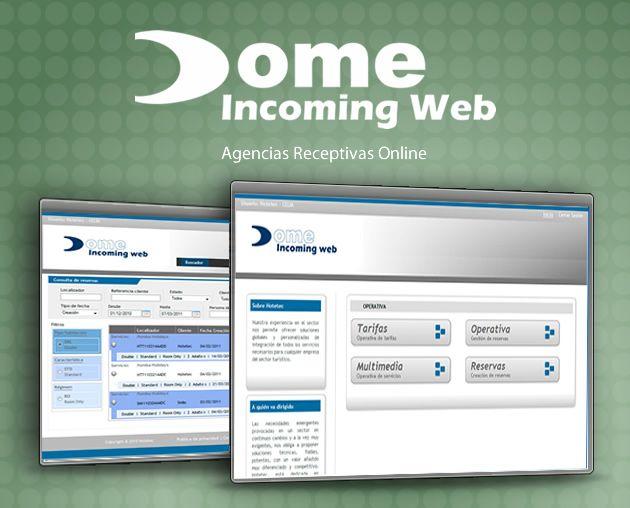 Dome Incoming Web, plataforma online para agencias de viajes receptivas