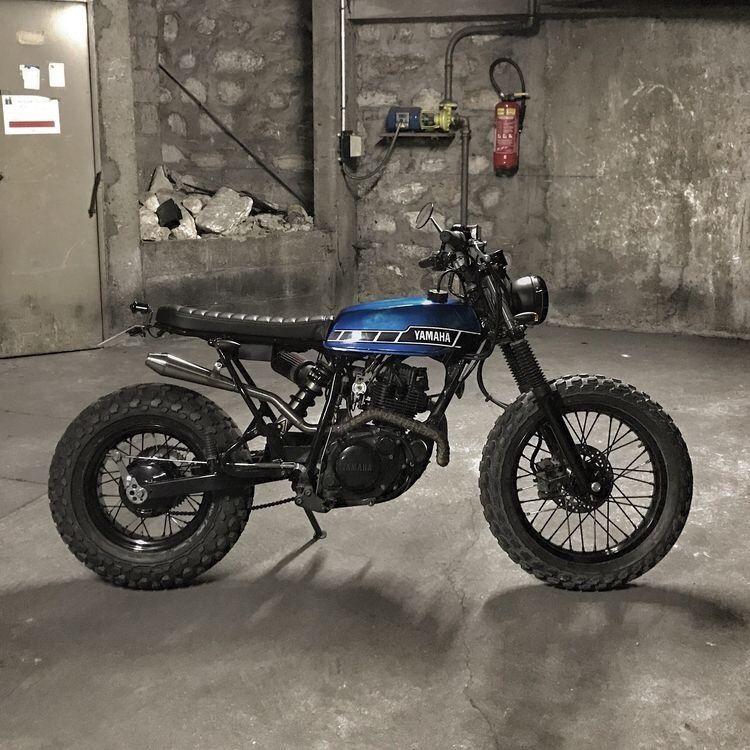Pin By Matt On Xr100 In 2020 Honda Scrambler Yamaha Cafe Racer Cafe Racer Bikes