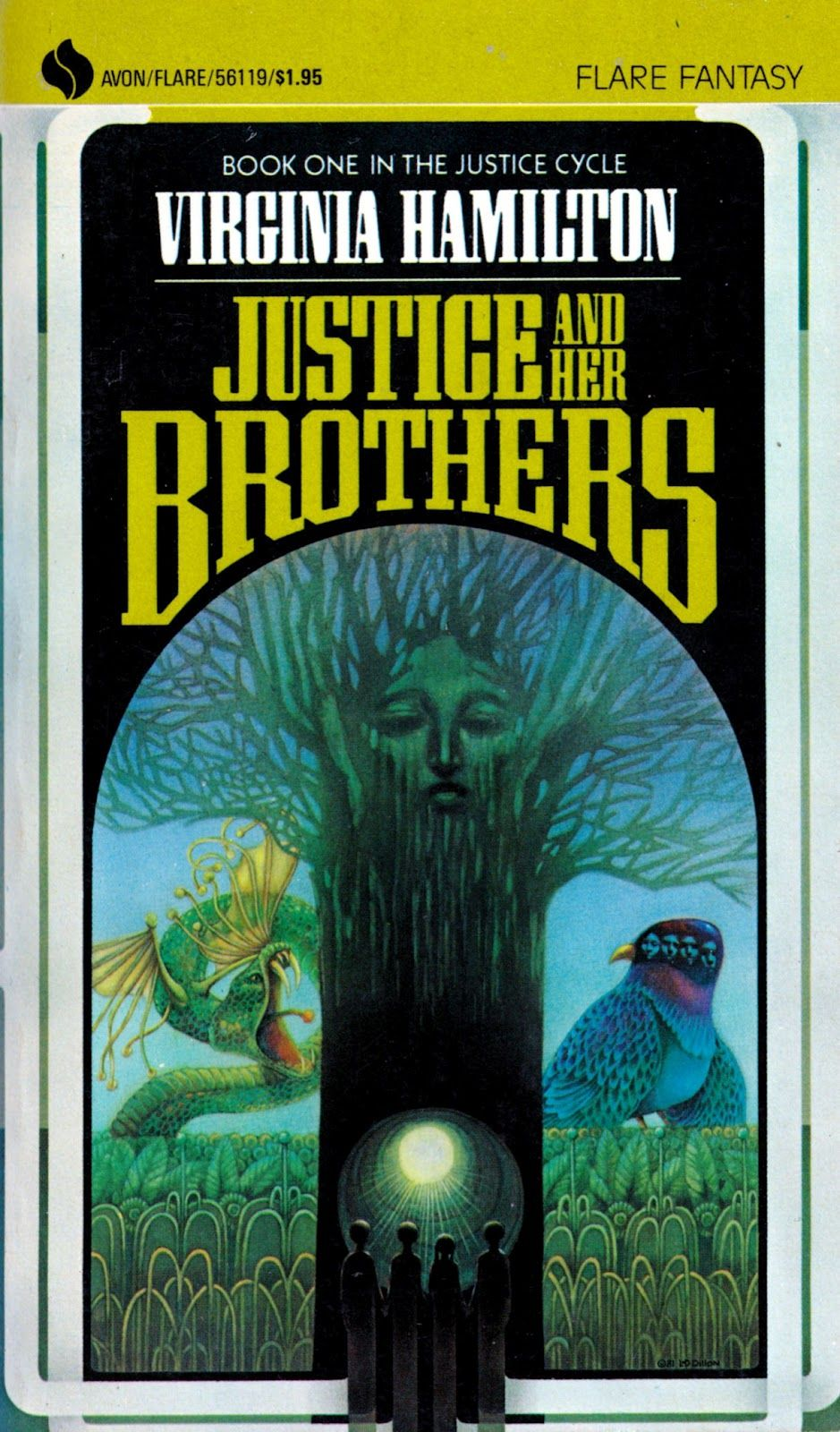 The Art of Leo and Diane Dillon: Virginia Hamilton: The Justice Cycle #1, Justice and Her Brothers