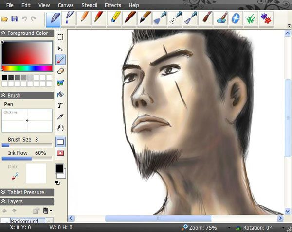 The Developer Team Has Released The Free Application Smoothdraw The Wonderful Software For Drawing Software Editing Pictures Free Drawing Software