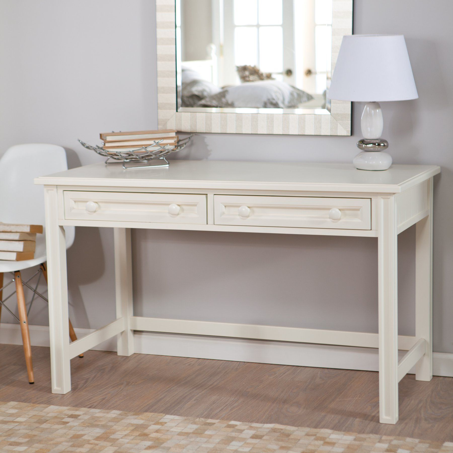 Belham Living Casey White Bedroom Vanity | Products | White bedroom ...