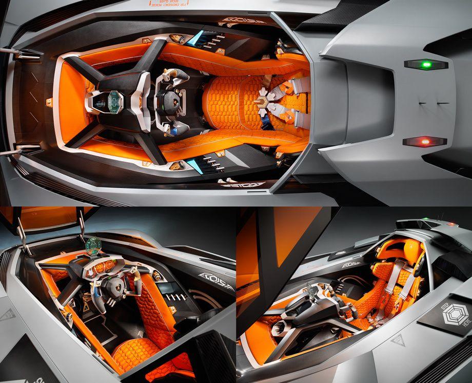 Lamborghini Egoista 2013 Auto Dashboards Apps Lamborghini