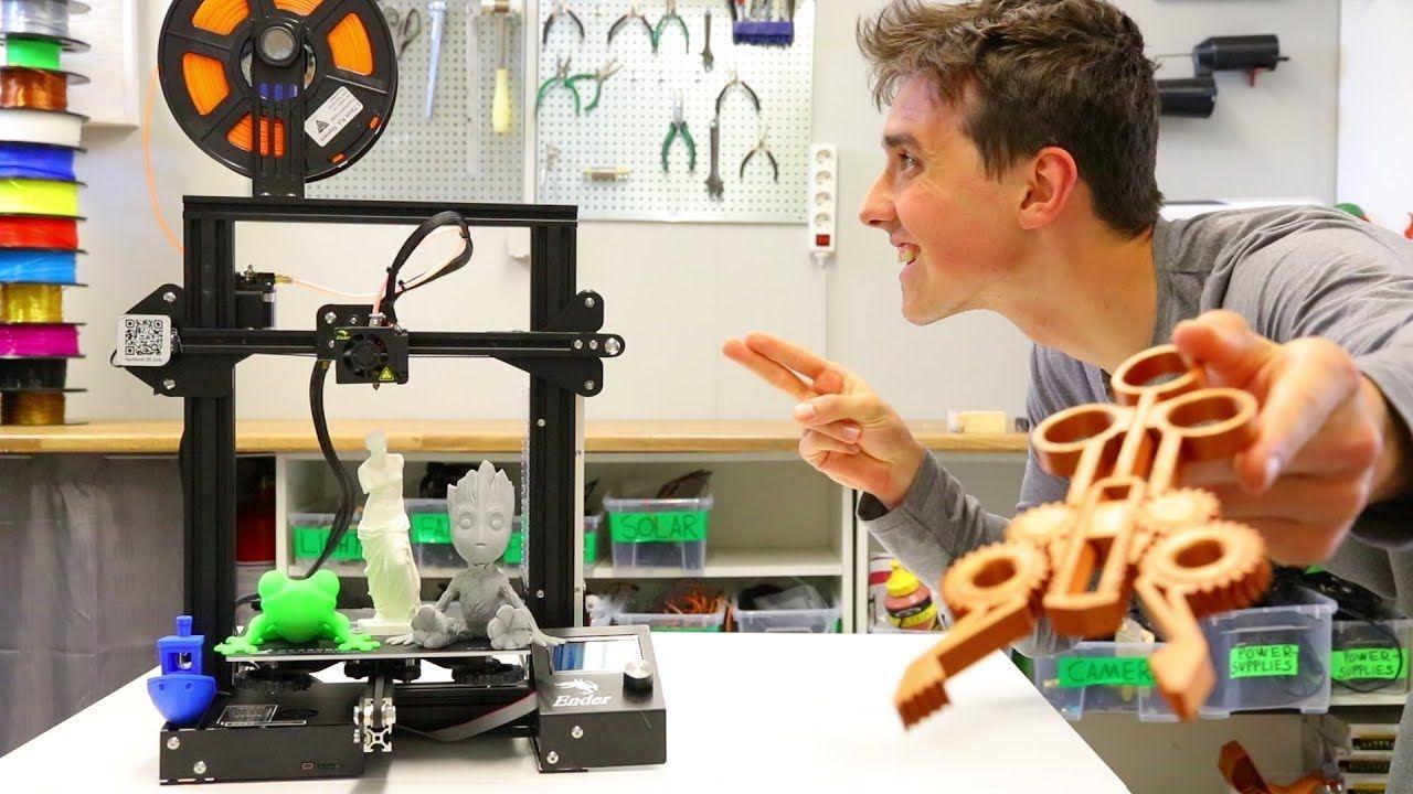 Creality Ender 3 Full Review Best 200 3D Printer! 3D