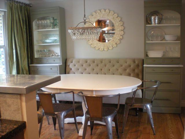 craft area design dump: before + after: formal living room dining room transformation